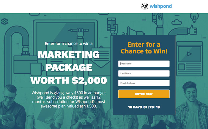 create a sweepstakes