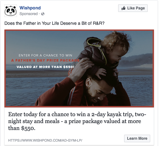fathers day contest ideas
