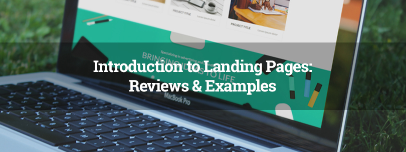 Introduction to Landing Pages: Reviews & Examples