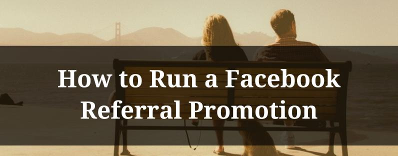 how to run a promotion on facebook