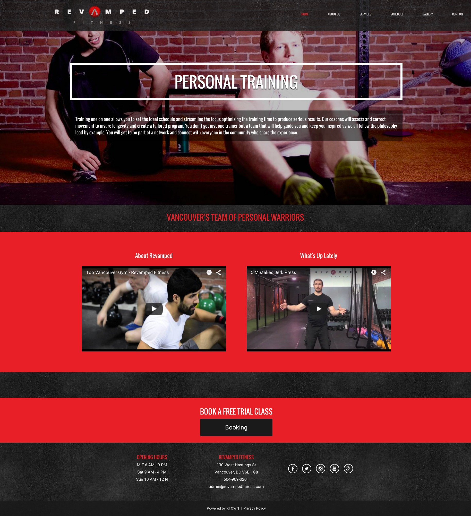 personal-trainer-landing-page