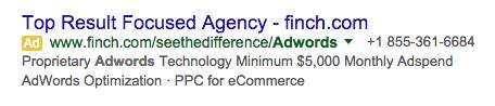 adwords-ad-finch