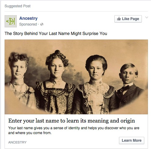 facebook ad landing pages