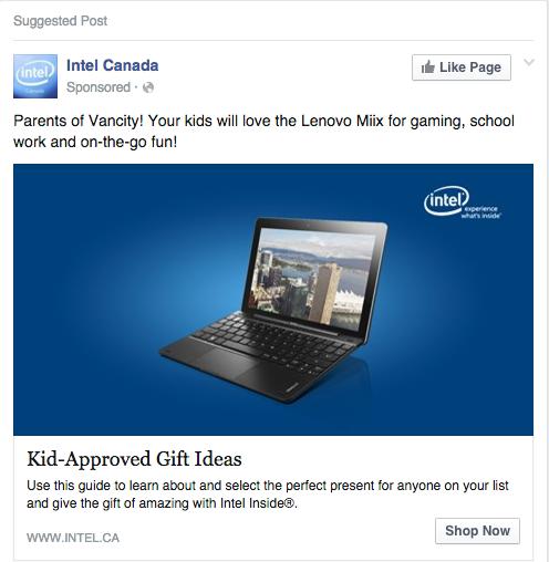 designing a facebook ad