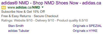 adidas nmd google ad