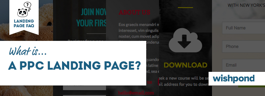 Landing Page FAQ: What is a PPC Landing Page?