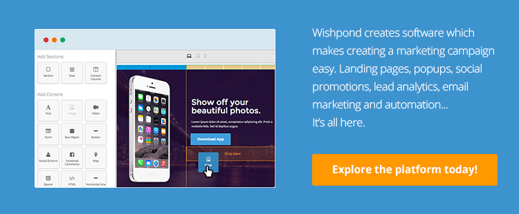 landing page call to action