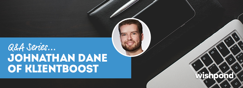 Q&A Series: Johnathan Dane of Klient Boost