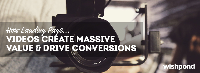How Landing Page Videos Create Massive Value and Drive Conversions
