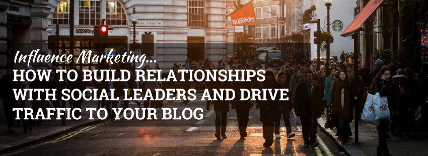 Influence Marketing: How to Build Relationships with Social Leaders and Drive Traffic to Your Blog