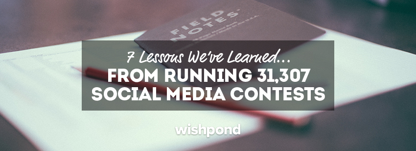 7 Lessons We've Learned From Running 31,307 Social Media Contests