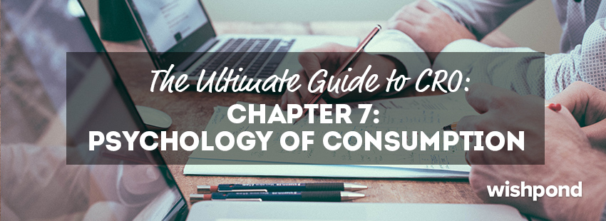 The Ultimate Guide to Conversion Rate Optimization (7): The Psychology of Consumption