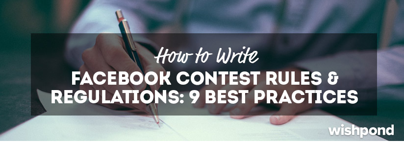 Writing official rules for sweepstakes