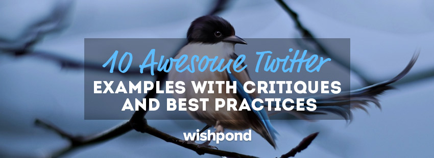 10 Awesome Twitter Examples with Critiques and Best Practices