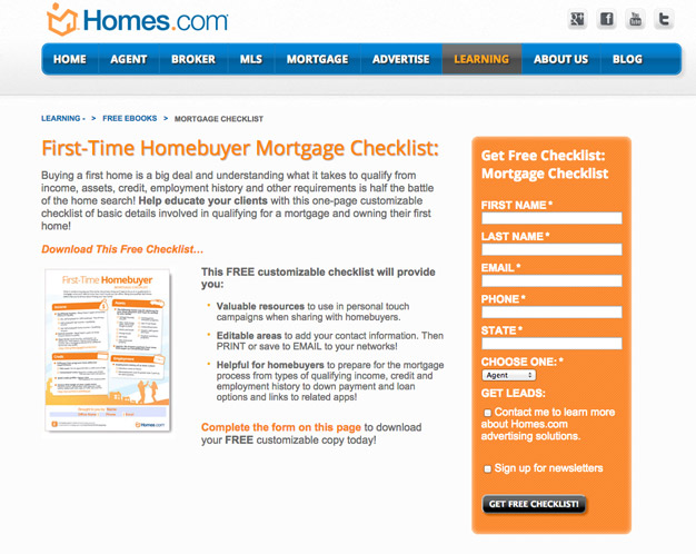 10 (Great And Terrible) Real Estate Landing Page Examples Critiqued