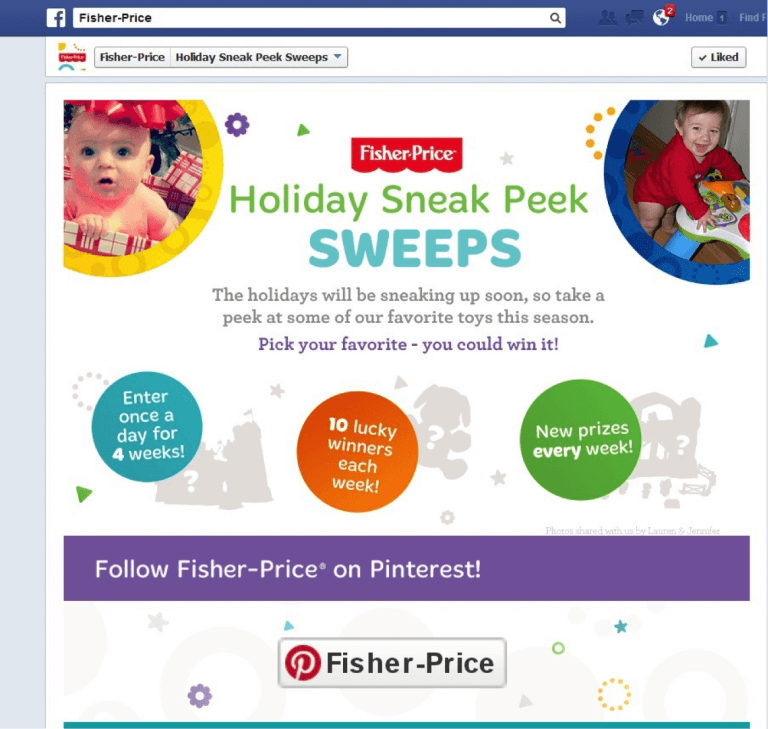 facebook sweepstakes image