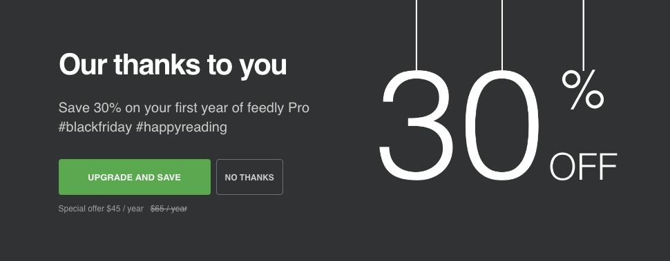 Feedly CTA
