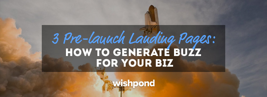 3 Pre-launch Landing Pages [Critiqued]: How to Generate Buzz for Your Biz