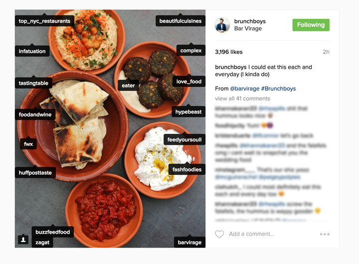 50 amazing social media marketing ideas strategies tips tagging big accounts in your instagram posts the photo itself not just the caption is an effective way to get your account noticed by others fandeluxe Gallery