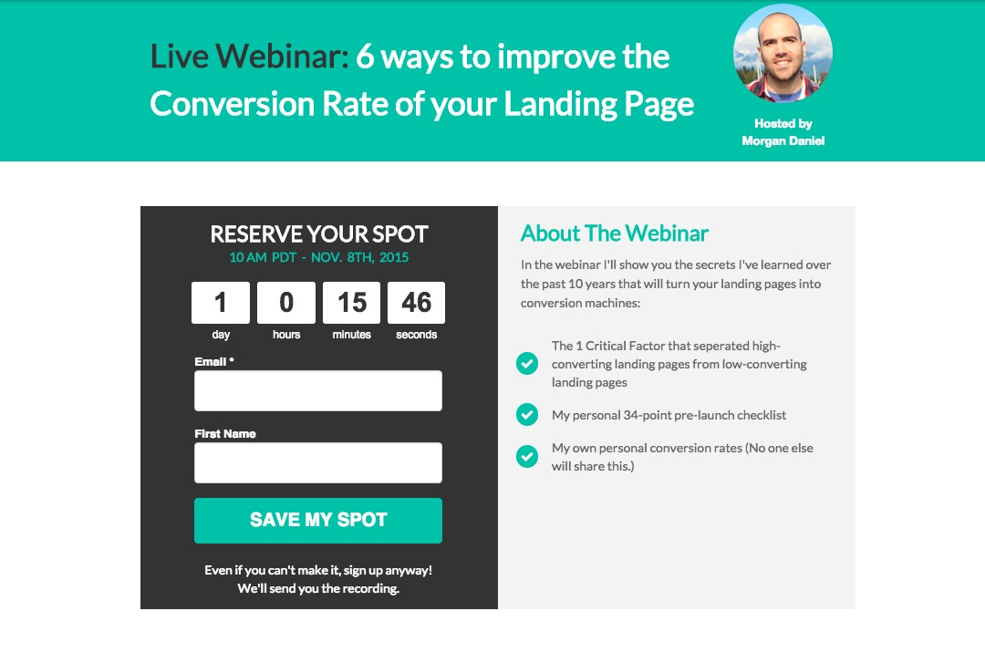 BB Lead Generation Strategies Ideas Examples - Lead generation website template
