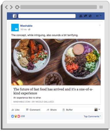 Facebook Post Ideas