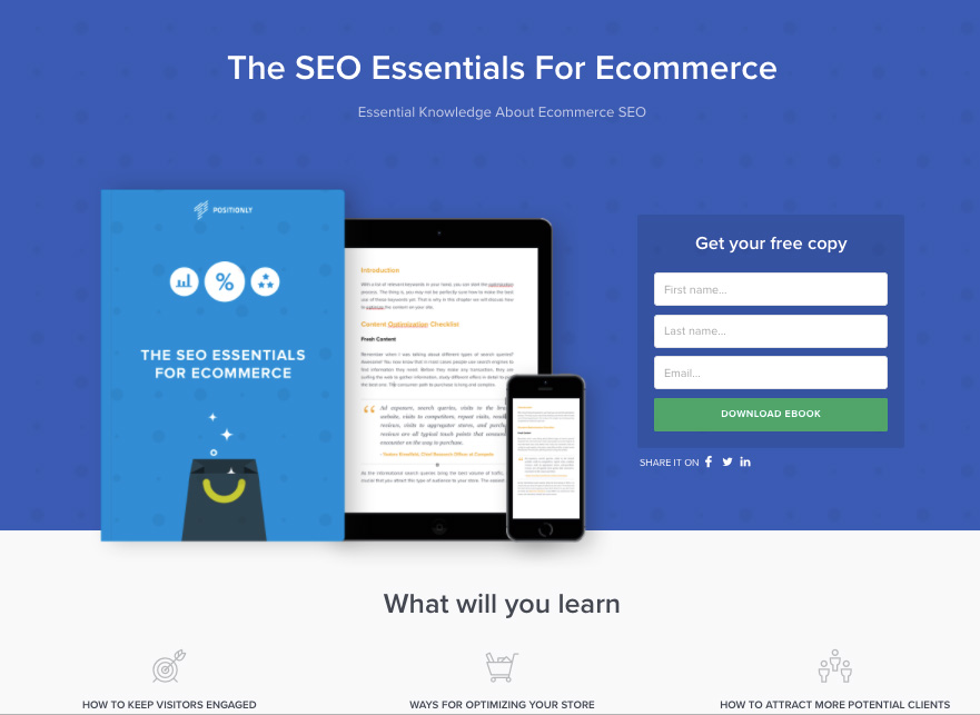 landing page header image example