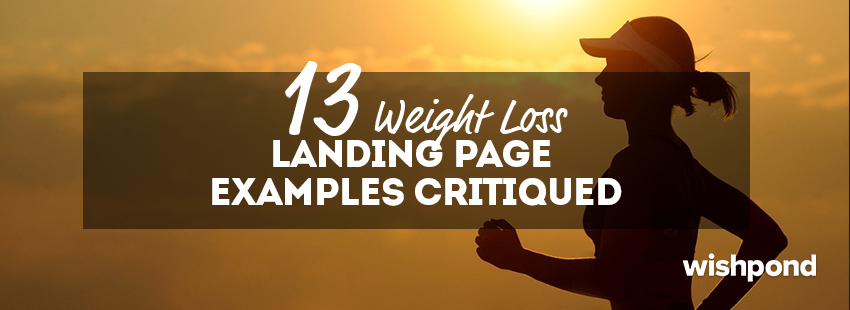 13 Weight Loss Landing Page Templates & Examples
