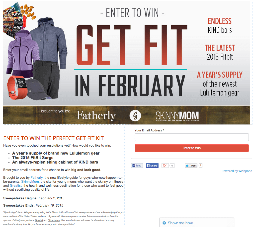 619a7d095b7 30 Amazing Examples of Branded Facebook Contests Done Right