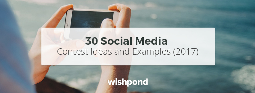 6 social contest ideas and examples
