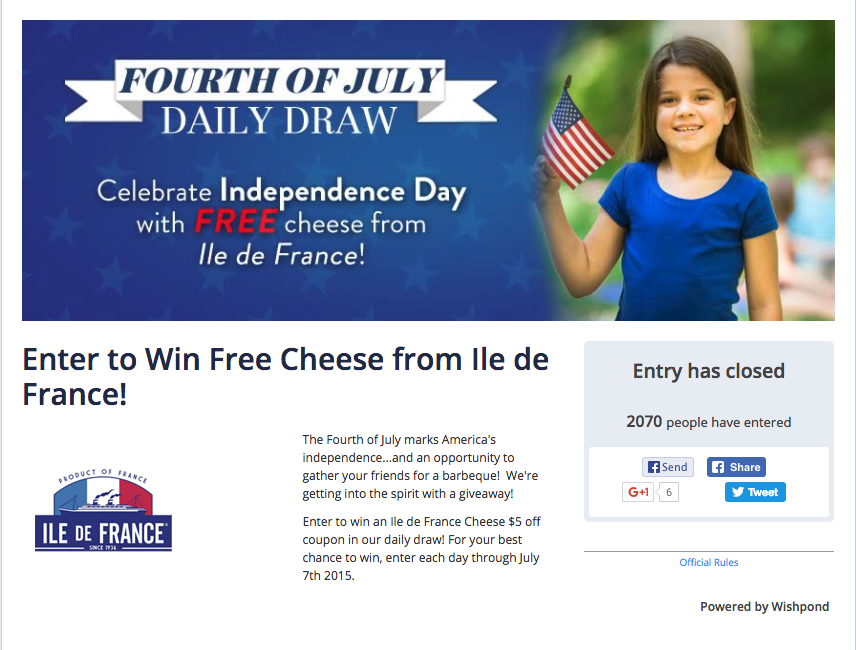 fourth of july contest
