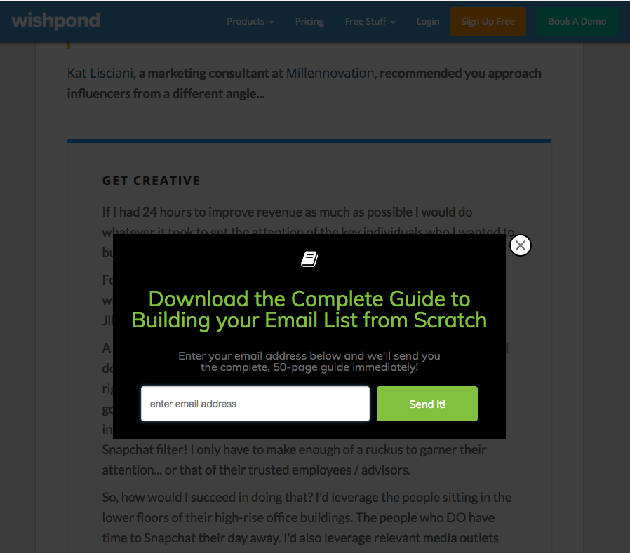 How to Build a Qualified Email List from Scratch in 5 Easy Steps