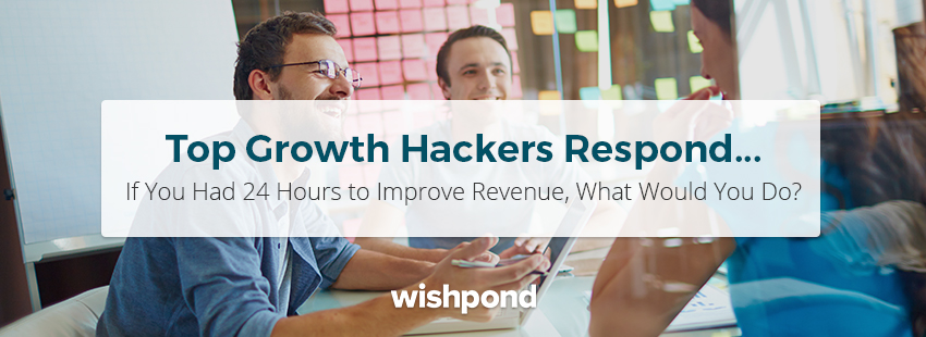 Top Growth Hackers Respond: If You Had 24 Hours to Improve Revenue, What Would You Do?