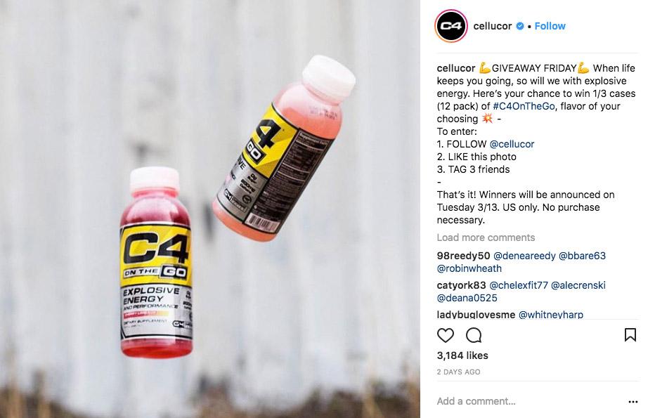 instagram contest examples